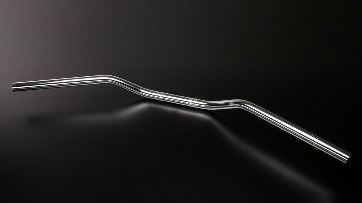 ABM Superbike Handlebar, steel, 1 inch, black