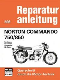 Motorbuch Engine book No. 506 repair instructions Norton Commando 759/850