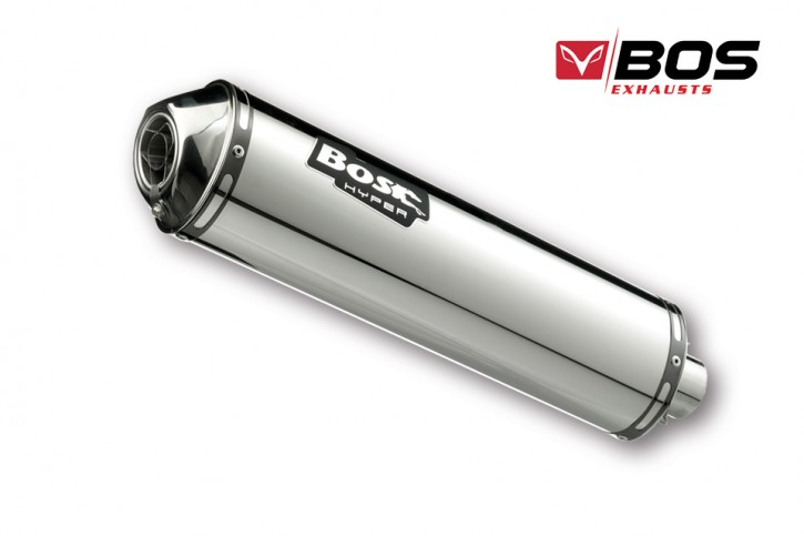 BOS Hyper silencer KAWASAKI Z 800, 13-