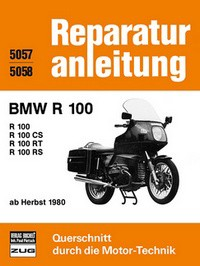 Motorbuch Engine book Repair instructions edition 5057 for BMW R 100