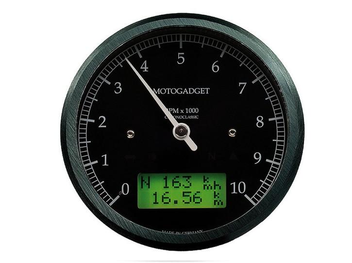 motogadget Chronoclassic rev counter -10.000 RPM