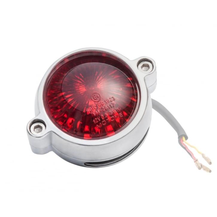 LED-RÜCKLICHT mit Kennzeichenbeleuchtung, Alu, poliert