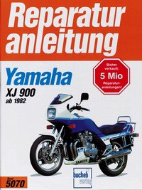 Motorbuch Engine book No. 5070 repair instructions YAMAHA XJ 900 (1982-94)