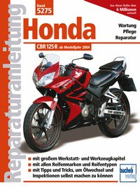 Motorbuch Engine book No. 5275 repair instructions HONDA CBR/XR125 R, 04-