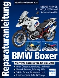 Motorbuch Engine book No. 6012 repair instructions BMW Boxer 1994-2012