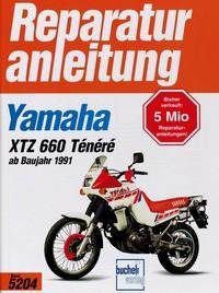 Motorbuch Engine book No. 5204 repair instructions YAMAHA XTZ 660 Ténéré (1991-)