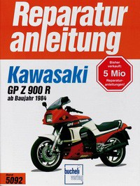 Motorbuch Engine book No. 5092 repair instructions KAWASAKI GPZ 900 R (1984-)