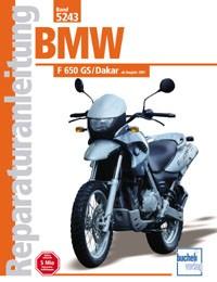 Motorbuch Engine book No. 5243 repair instructions BMW F 650 GS/Dakar, 01-