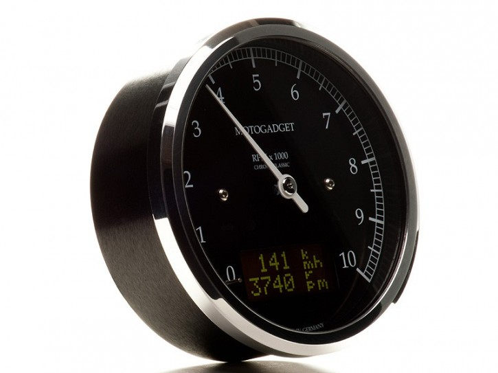 motogadget Chronoclassic rev counter -10.000 RPM