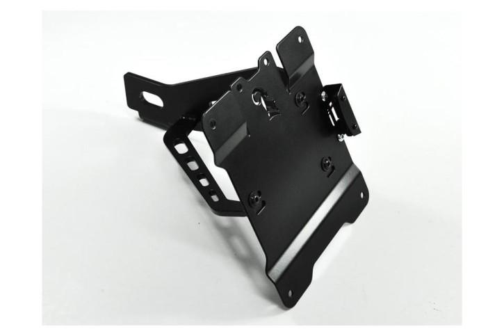 IBEX Bracket for license plate, side mount for SUZUKI LS 650 Savage