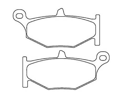FERODO Disc brake pad FDB 2213 P