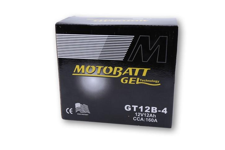 MOTOBATT GEL Batterie GT12B-4