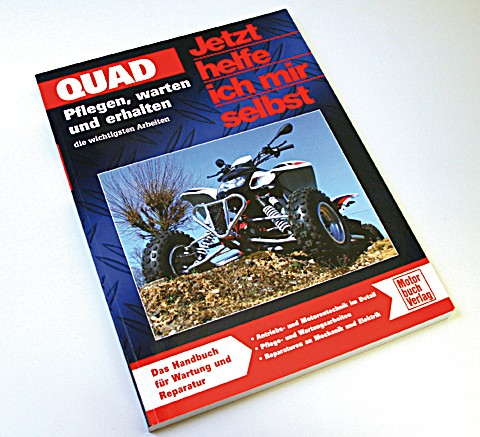 Motorbuch Engine book Now i help myself, Quad, Band 281, all about keep your Quad run