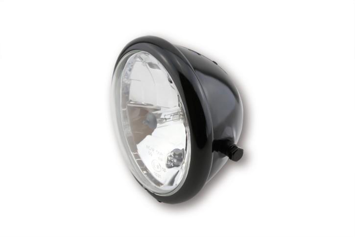 BATES STYLE 5 3/4 Zoll Hauptscheinwerfer, schwarz glänzend