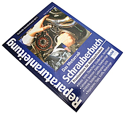 Motorbuch Engine book No. 6011 instruction manual motorcycle repair book universal