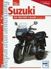 Motorbuch Bd. 5207 Reparatur-Anleitung SUZUKI GSF 600/1200 S Bandit (ab 1995/96)