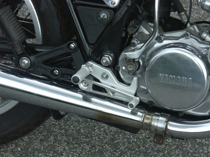 Alloy REAR SETS for YAMAHA SR 500 from LSL