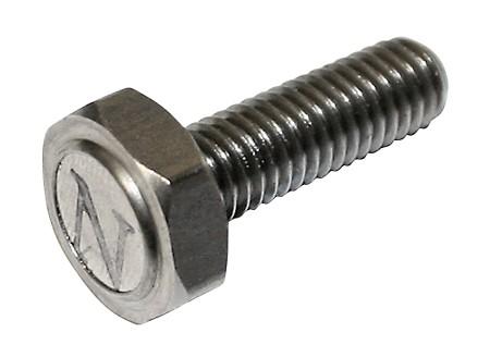 KOSO Magnetschraube M6 x 1.0 x L. 24 mm für Tachos mit Sensor, Edelstahl