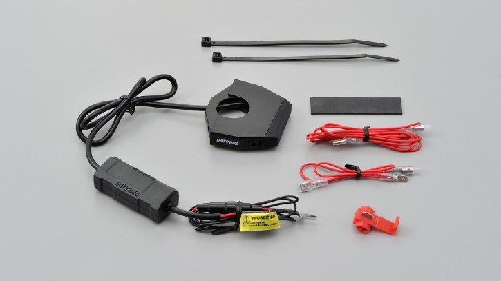 DAYTONA SLIM TYPE 1-fach USB Steckdose zur Lenkerbefestigung