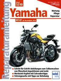 Motorbuch Engine book No. 5310 repair instructions YAMAHA MT 07 14-