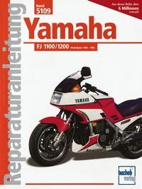 Motorbuch Engine book No. 5109 repair instructions YAMAHA FJ 1100/1200 (1984-90)