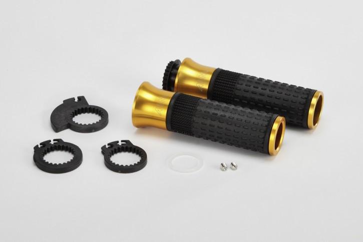 ABM SGrip black/gold, 7/8 inch