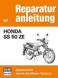 Motorbuch Engine book Repair instructions edition 511 for HONDA SS 50 ZE
