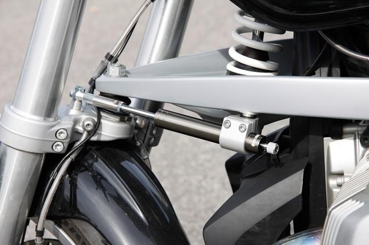 LSL Lenkungsdämpfer Kit BMW R1200R 11- (R1ST), titan