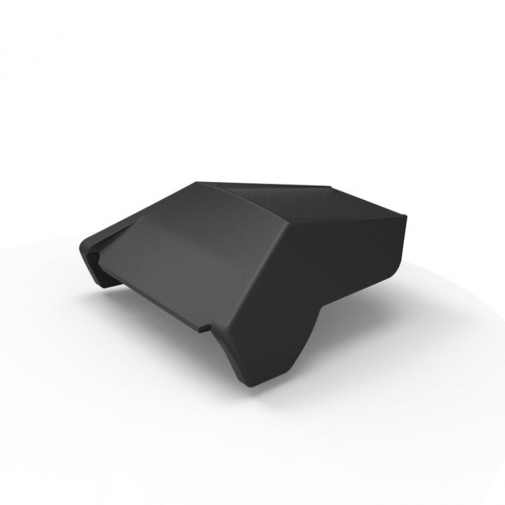 CONFIGURATOR: SEAT COWL custom made of 3D-printed high performance plastic with integrated Tail- and Stoplight