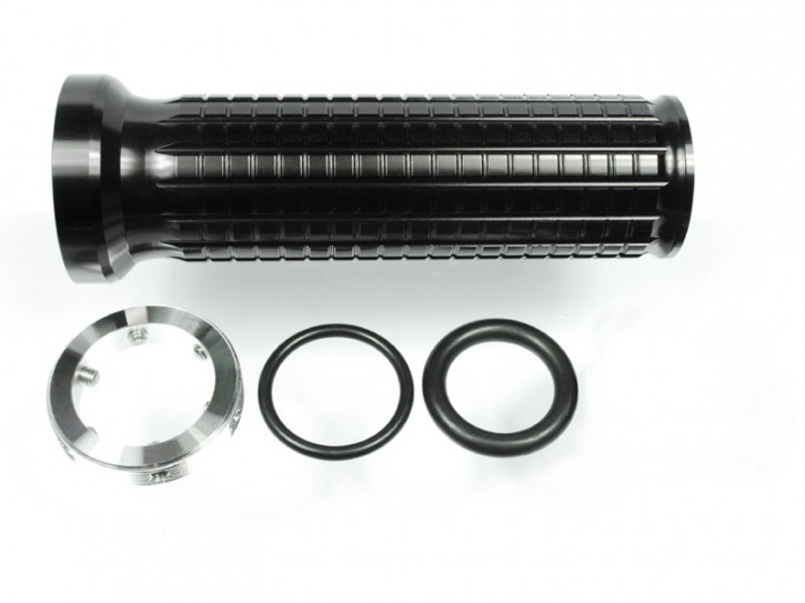 "2 Alu-GRIPS, ""m.grip"" v. MOTOGADGET, universal, black anodized"