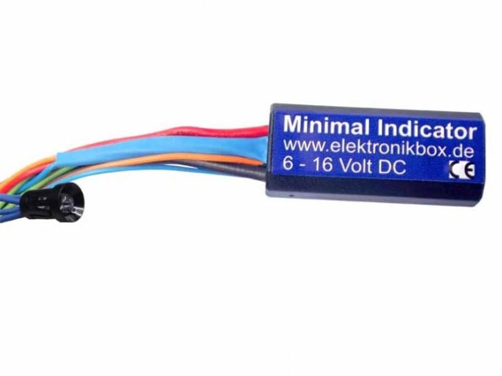MINIMAL INDICATOR multifunctional-indicator-LED for up to four indications