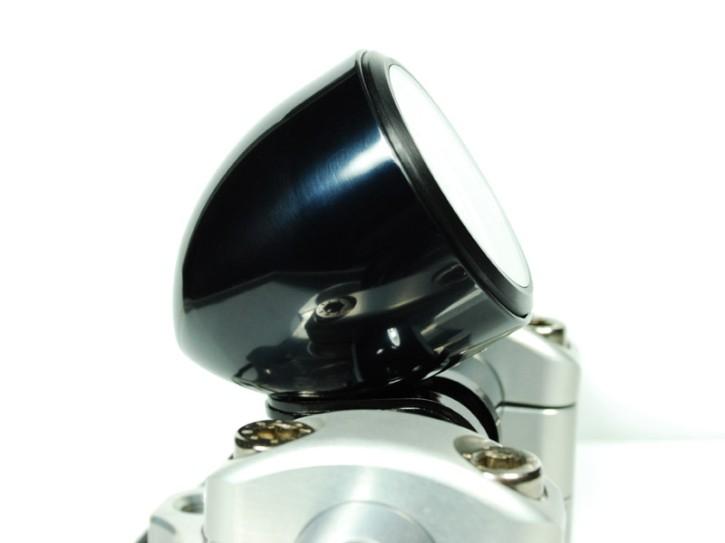 """TACHO-BECHER """"Streamline Cup"""" v. MOTOGADGET, Aluminium, schwarz eloxiert, f. 1 Zoll Lenker"""