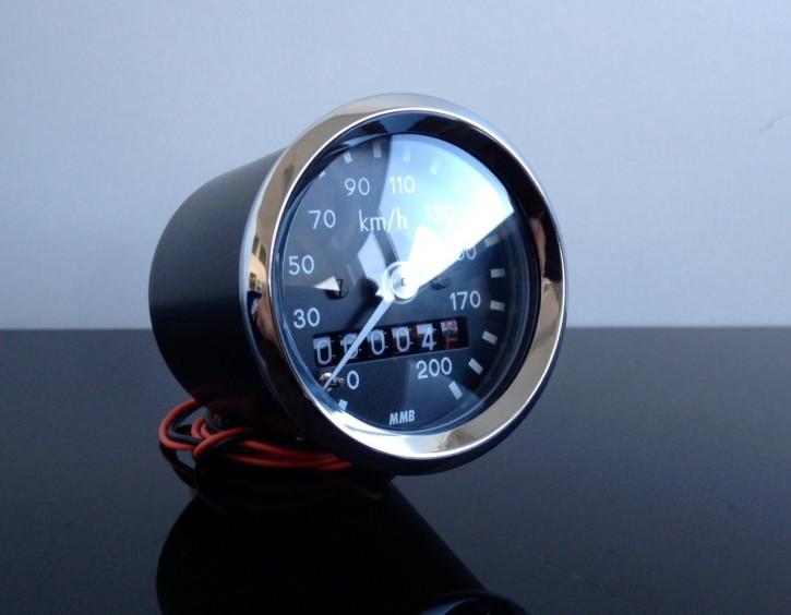 Mini-Tachometer TACHO speedo,48mm, k=1,4 f.JAPANER!