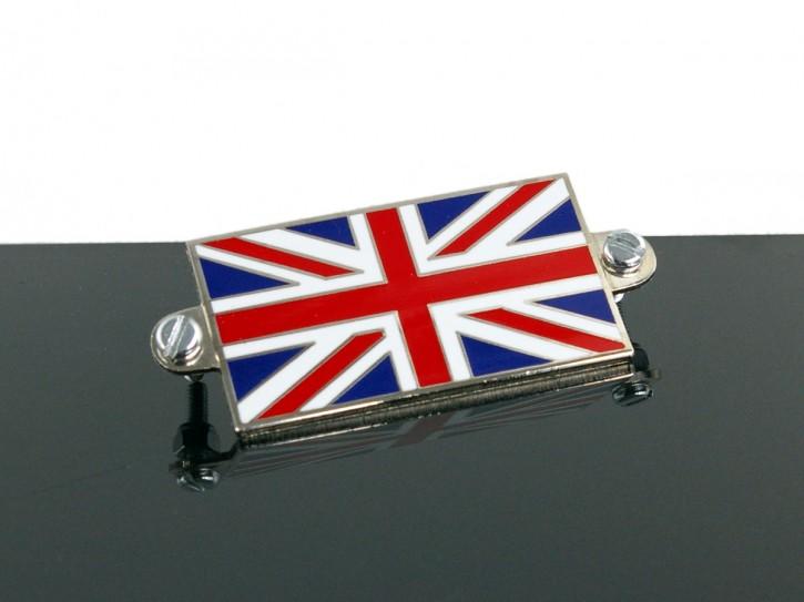 Union Jack PLAKETTE, emailliert
