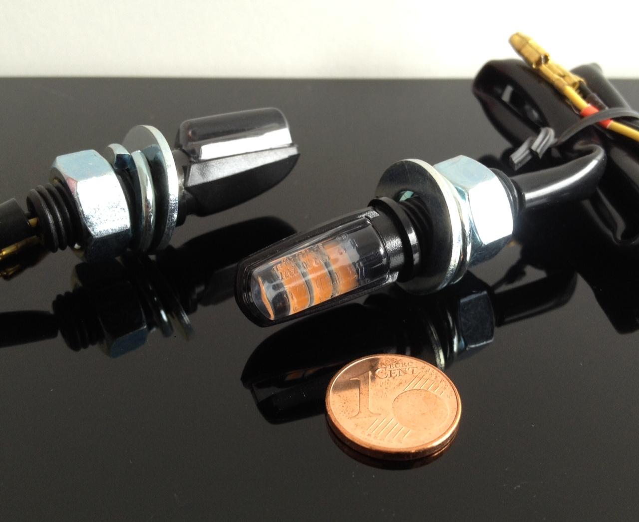 Micro Motorcycle Indicators 2 Led Micro-/mini Indicators