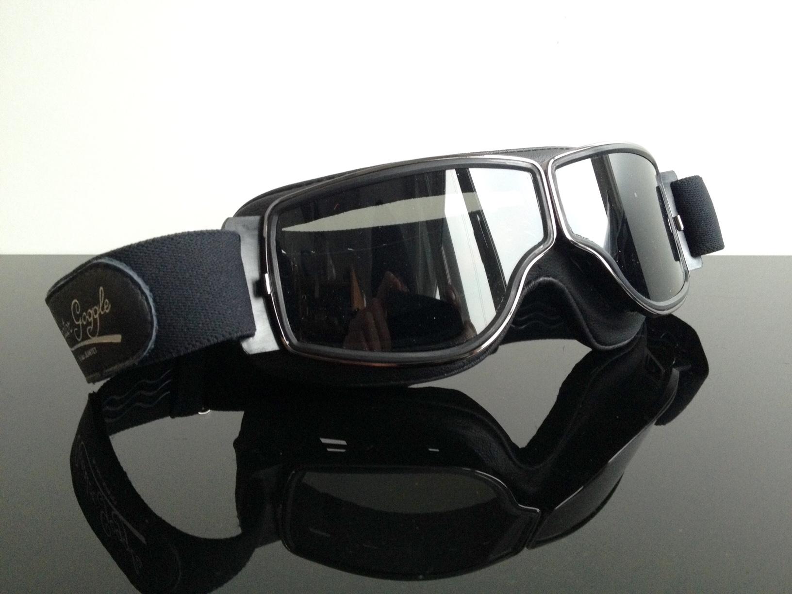 aviator motorradbrille brille goggles lunettes occhiali. Black Bedroom Furniture Sets. Home Design Ideas