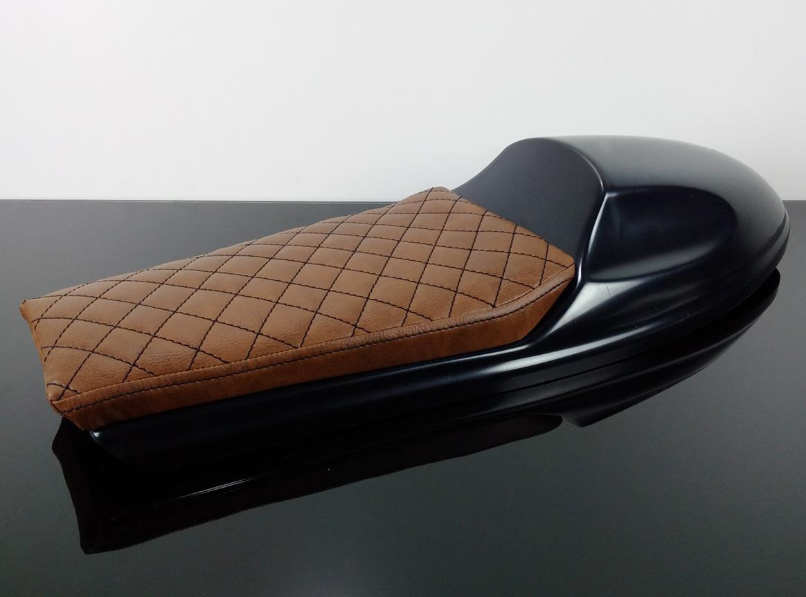 cafe racer scrambler h cker sitzbank seat bench selle banco banc universal ebay. Black Bedroom Furniture Sets. Home Design Ideas