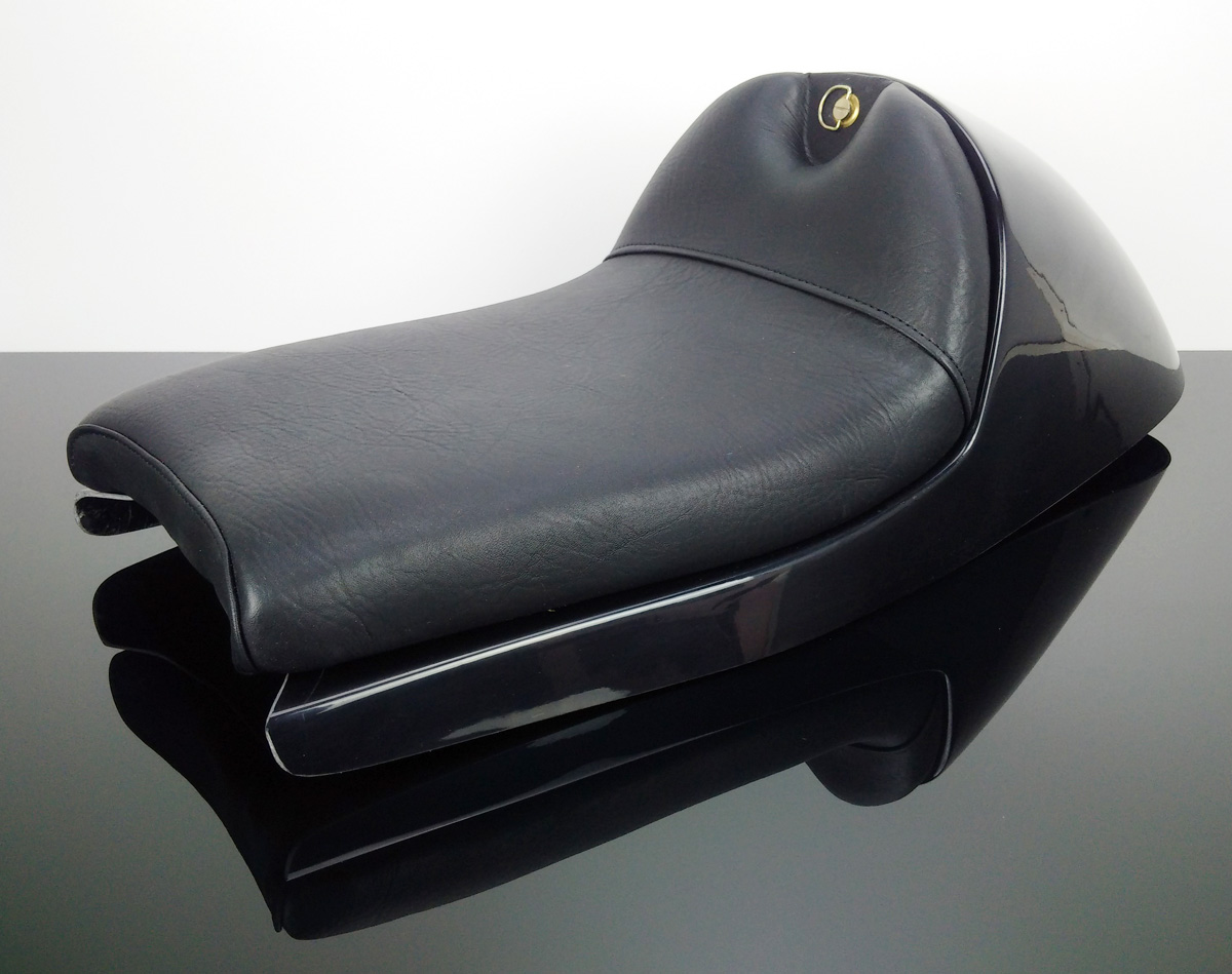 cafe-racer seat for bmw and many others. shorter version-sb-bk