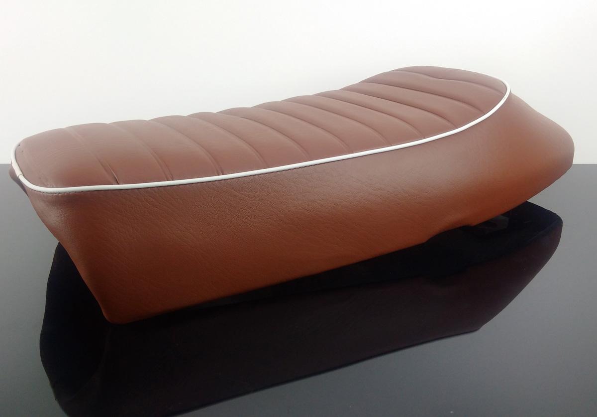 cafe racer sitzbank sitz universal braun sb sc2. Black Bedroom Furniture Sets. Home Design Ideas