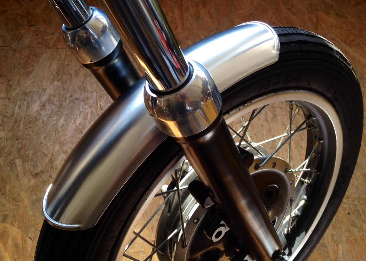 Cafe-Racer Kotflügel Fender 17-19\