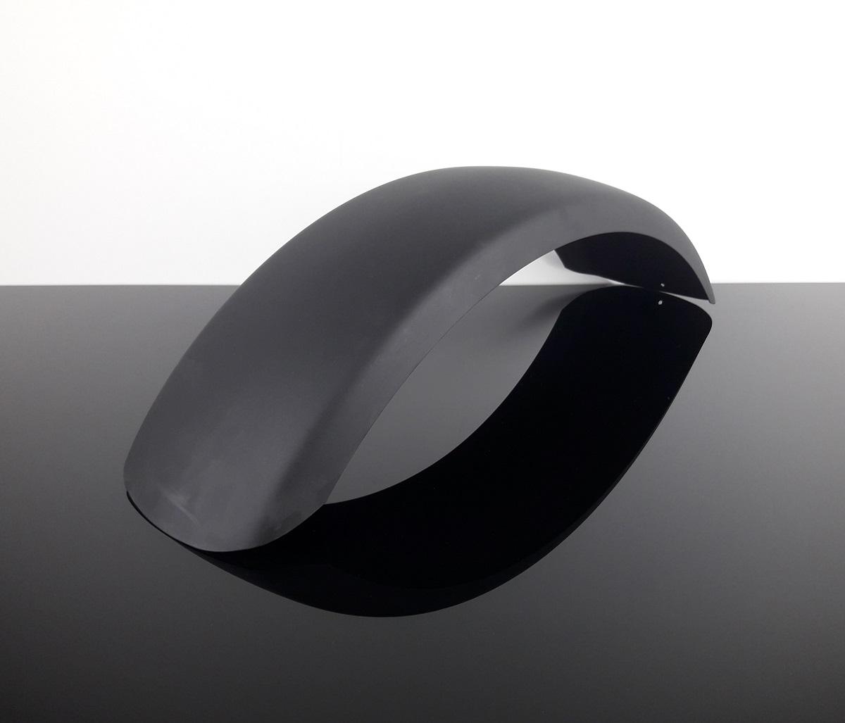 kotfl gel schutzblech rear mudguard fender parafango hinten schwarz black ebay. Black Bedroom Furniture Sets. Home Design Ideas