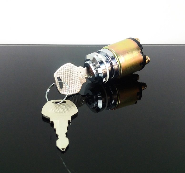 Zündschloss Ignition Key Switch 3 Positionen f. 6, 12 oder 24 Volt ...