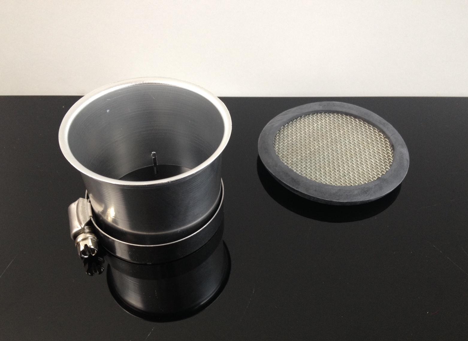 alu ansaugtrichter sieb carburetor cone funnel f mikuni vm36 und andere ebay. Black Bedroom Furniture Sets. Home Design Ideas