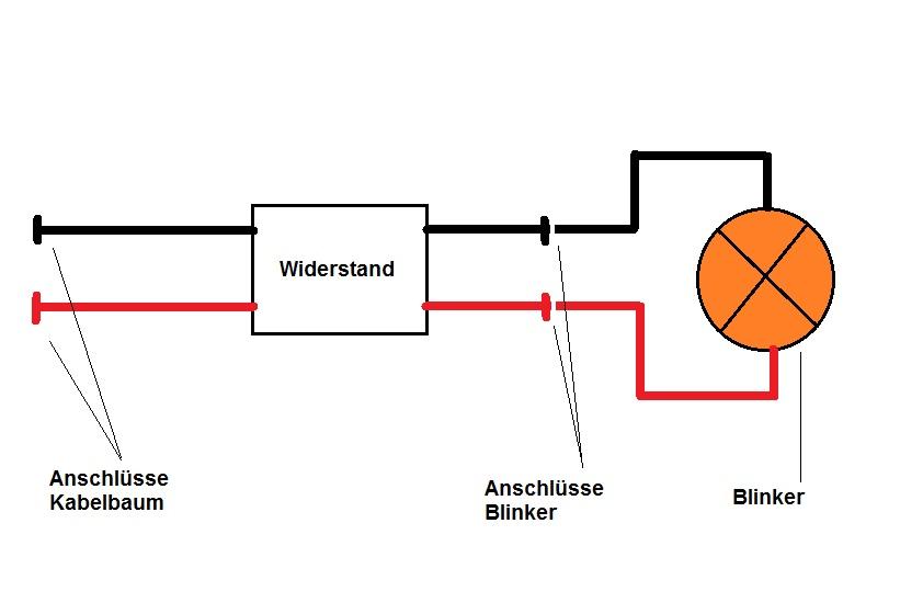 2 led blinker last widerst nde lastwiderst nde resistor f. Black Bedroom Furniture Sets. Home Design Ideas