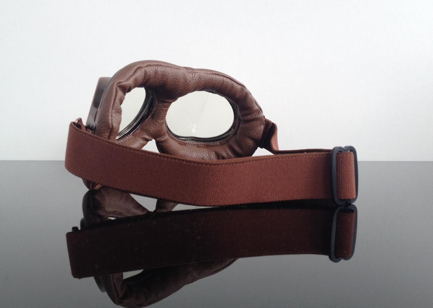 steampunk motorradbrille jet helmet goggles lunettes. Black Bedroom Furniture Sets. Home Design Ideas