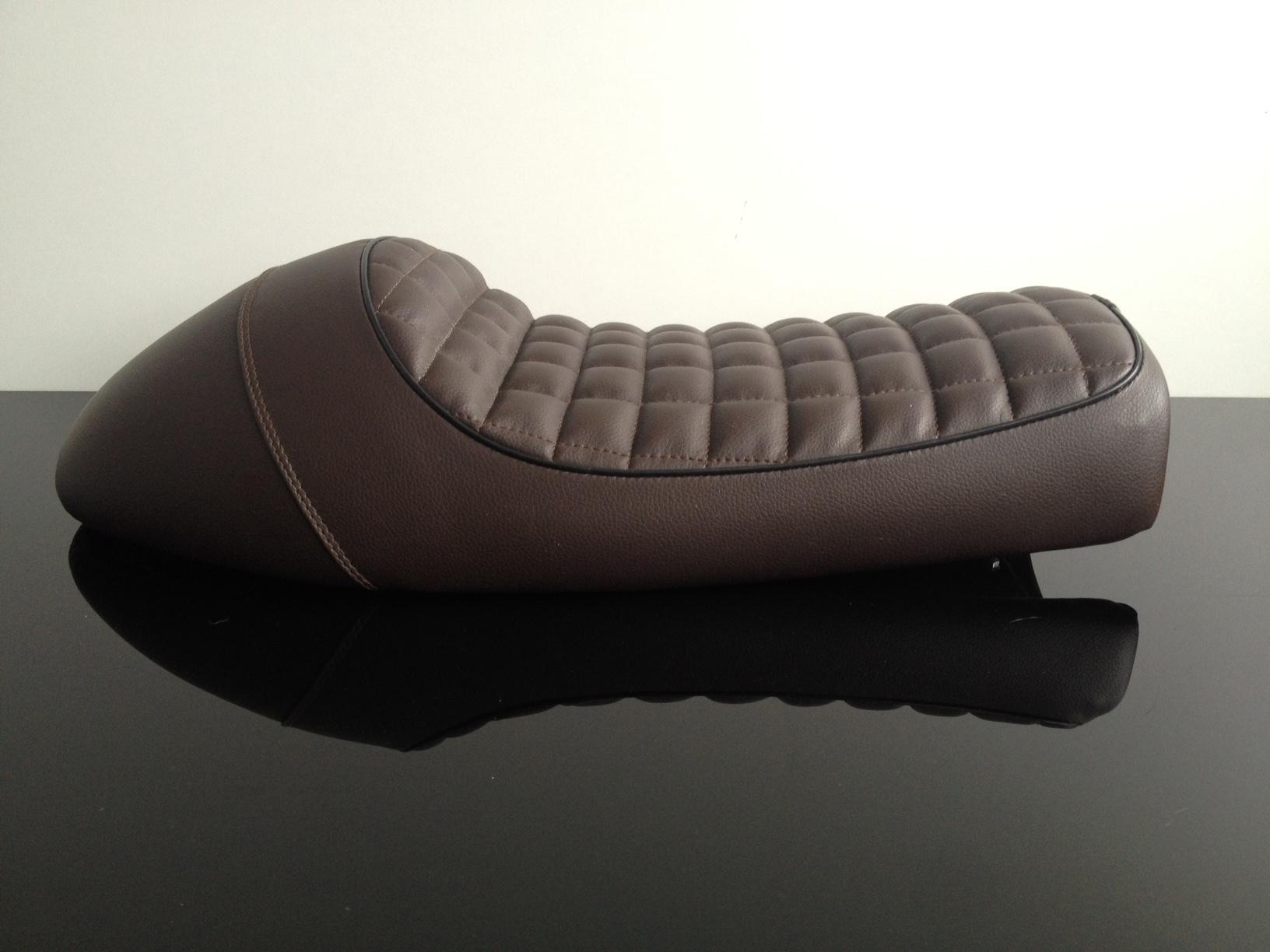cafe racer sitzbank seat bench selle banco banc universal ebay. Black Bedroom Furniture Sets. Home Design Ideas