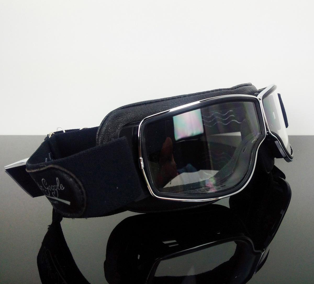 motorradbrille brille goggles lunettes occhiali aviator. Black Bedroom Furniture Sets. Home Design Ideas