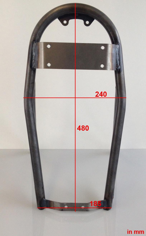 heckrahmen subframe bmw duolever 2 ventiler r modelle r45 r65 r100 r 45 65 100 ebay. Black Bedroom Furniture Sets. Home Design Ideas