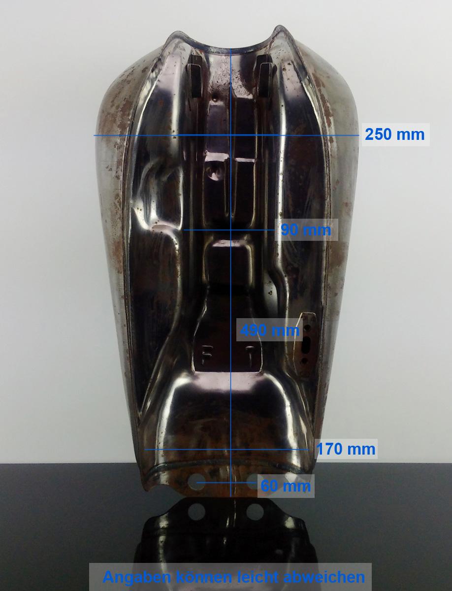 tank scrambler xt500 peanut style fuel tank tanica tanque ebay. Black Bedroom Furniture Sets. Home Design Ideas