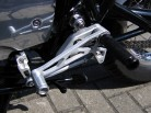 Alloy REAR SETS for YAMAHA SR 500